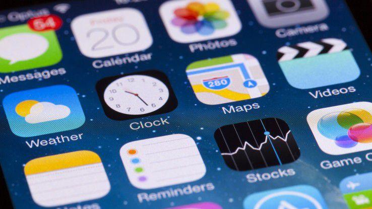 In der Zeit von Heiligabend bis Neujahr gaben App-Store-Nutzer um die 740 Millionen Euro für den Kauf von Apps aus.