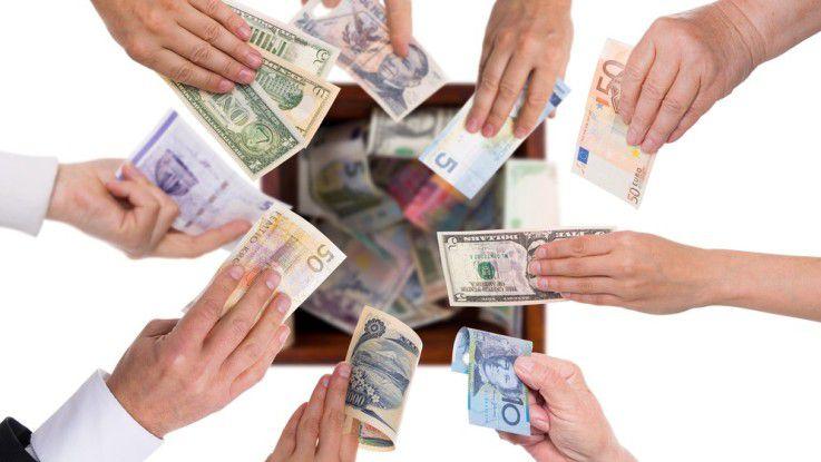 Gerade für kleinere Projekte bieten sich Crowdfunding-Kampagnen an, um Startkapital zu gewinnen.