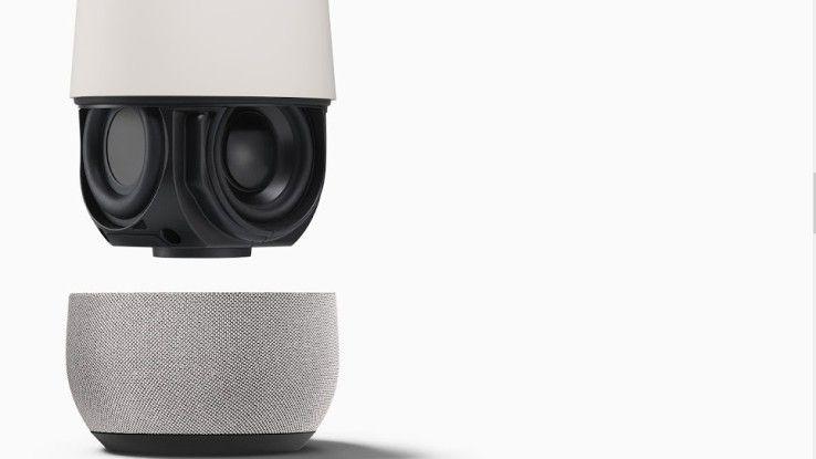 Google Home soll im Frühjahr 2017 auch in Deutschland erscheinen.