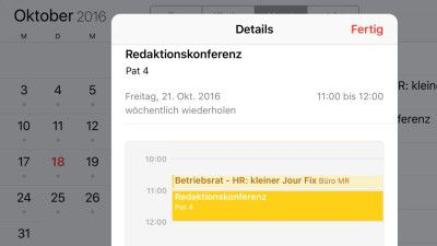 Apps, Exchange, Outlook, Google Calendar, iOS 10: iPhone/iPad-Praxis - Kalender optimal synchronisieren