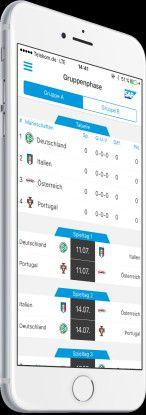 Die U-19-EURO-App orientiert sich konsequent an den Bedürfnissen und Wünschen der späteren Nutzer - mit dem Ziel das Fan-Engagement zu steigern.