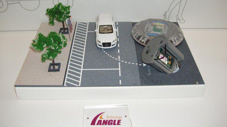 IoT-Sensoren machen die Parkplätze künftig smart.
