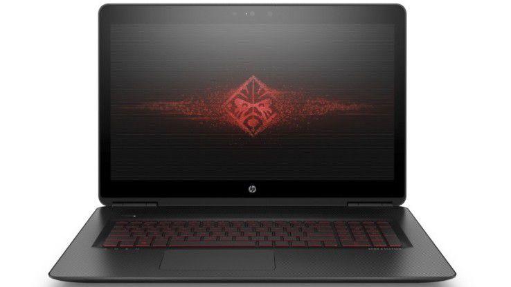 Gaming-Laptop mit Geforce GTX 1070 im Test: HP Omen 17