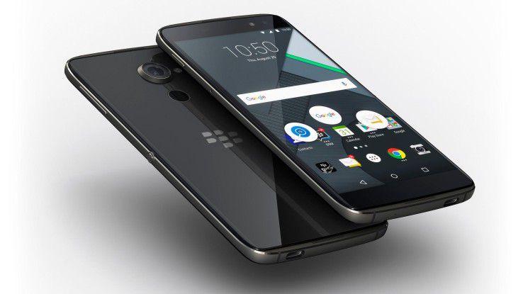 Blackberry verpasste dem DTEK60 bei Hardware und Software seinen eigenen Touch.