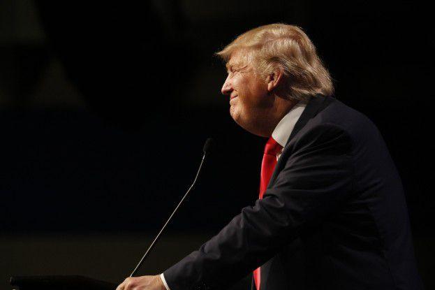 Die Digitalisierung war bisher nicht sein Lieblingsthema: Donald Trump, neuer US-Präsident.