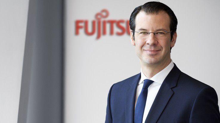 """Wachstum wird im Bereich der """"Fast IT"""" erzielt, sagte Rolf Werner, Geschäftsführer Fujitsu Zentraleuropa. Sein Unternehmen forciere hier seine Anstrengungen."""