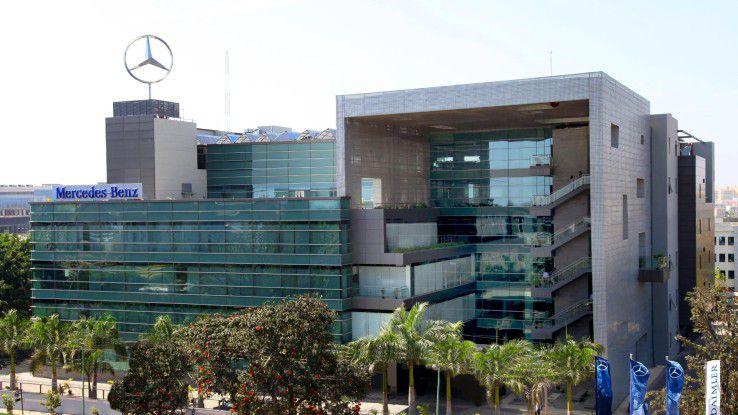 MBRDI in Bangalore: Die Marke mit dem Stern hat auch in Indien enorme Strahlkraft.