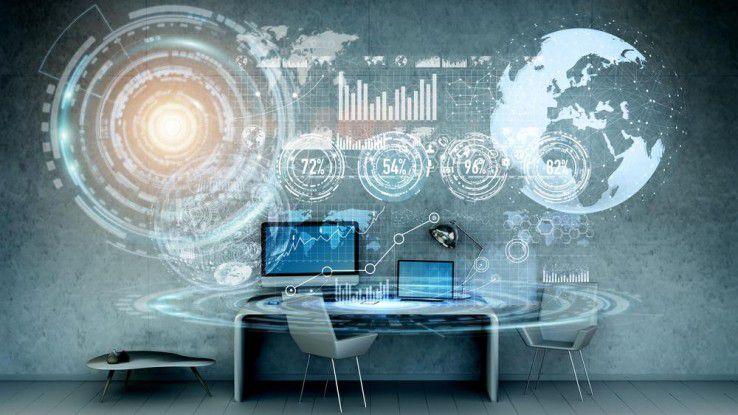 Der Arbeitsplatz aus der Cloud sorgt für mehr Produktivität.