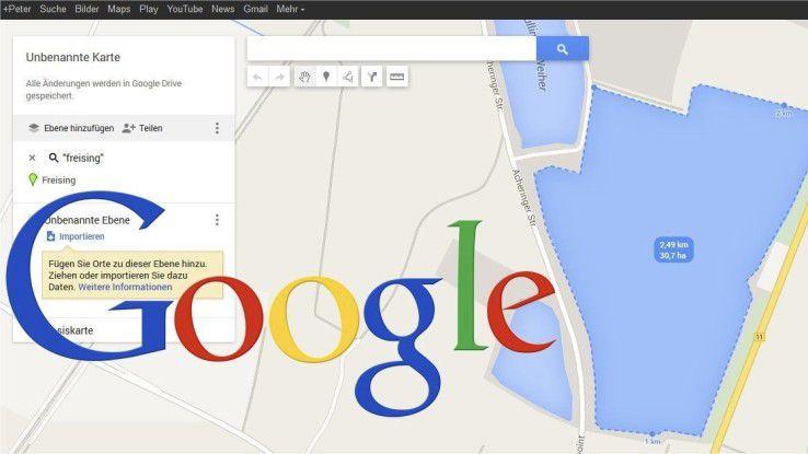 """Google Maps ist mehr als nur eine einfache Kartenansicht und die Navigation von A nach B. Der Online-Dienst bietet weit mehr, darunter auch """"eigene Karten""""."""