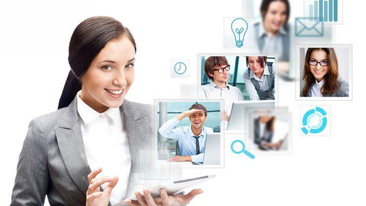 Immer im permanenten Kontakt mit den Kollegen - egal wo. Enterprise Social Networking (ESN) ermöglicht rasche Entscheidungen.