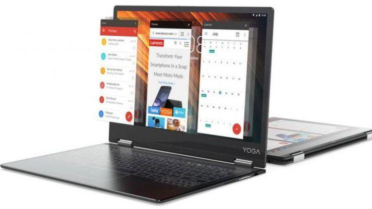 Das Lenovo Yoga A12 ist ein Convertible
