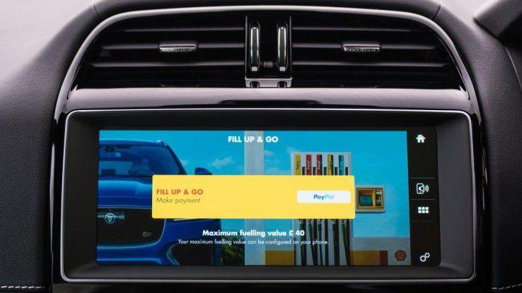 Wirklich smart: Eine In-Car-Payment-Lösung, die Shell in Großbritannien mit Jaguar Land Rover und accenture realisiert hat.