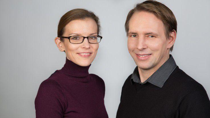 Bianca Schmitz und Dr. Jens Weinmann, beide mit jahrelangen Erfahrungen mit Design Thinking und agilen Projekten, werden das Seminar leiten.