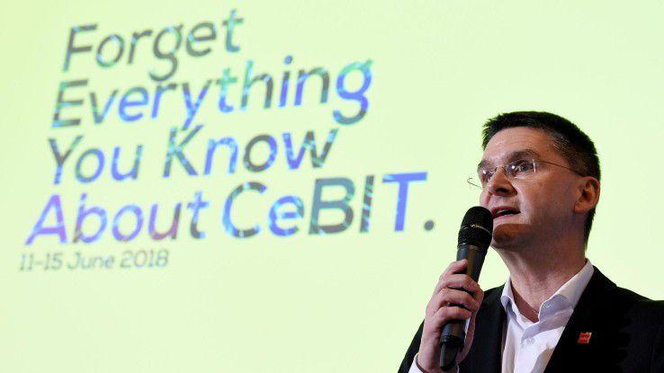"""Die Abkürzung CEBIT steht für """"Centrum für Büroautomation, Informationstechnologie und Telekommunikation""""."""