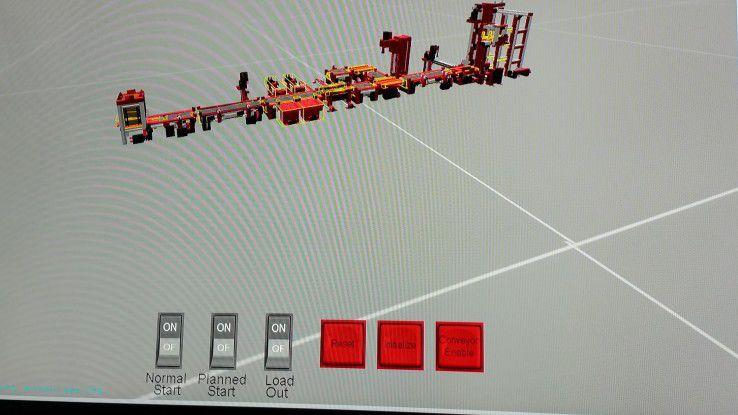 Auch die Modellfabrik hat im Lab ihren Digital Twin.