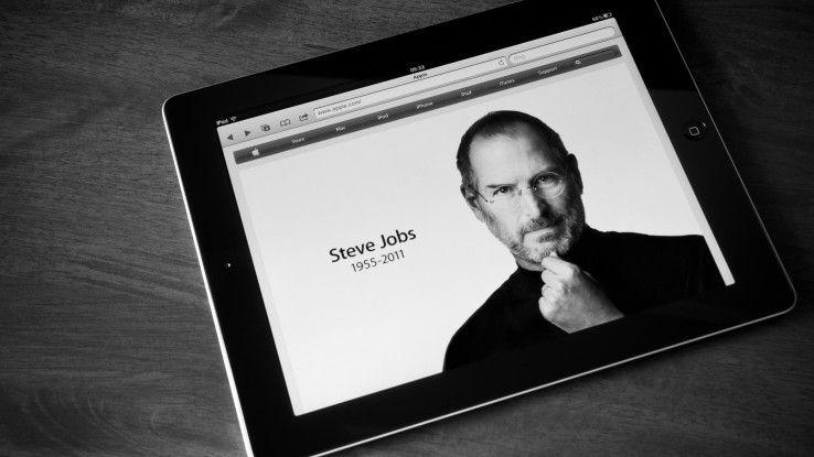 Steve Jobs hat es perfekt verstanden. Er war - und ist es eigentlich immer noch - das Gesicht der Marke Apple.