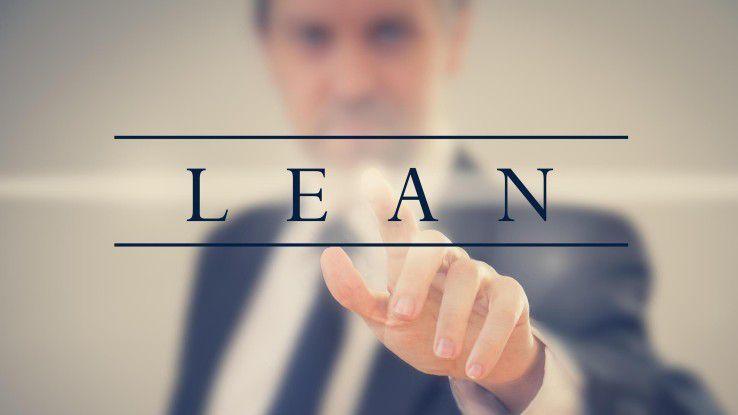 Die Prinzipien des Lean Management lassen sich auch auf die IT-Organisation übertragen.