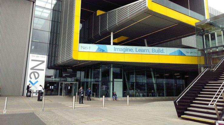 Mehr als 4.800 Besucher kamen dieses Jahr zu Googles europäische Cloud-Konferenz Next im Exhibition Centre (ExCeL) in London.