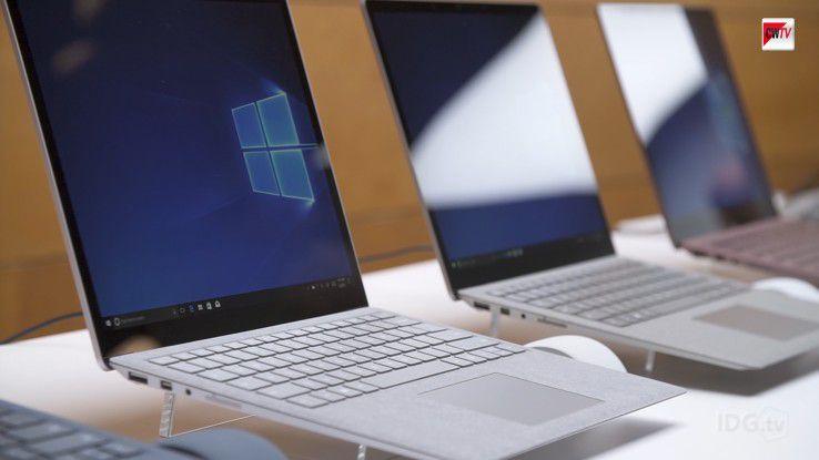 Microsoft hatte Windows 10 S gemeinsam mit seinem Surface Laptop vorgestellt.