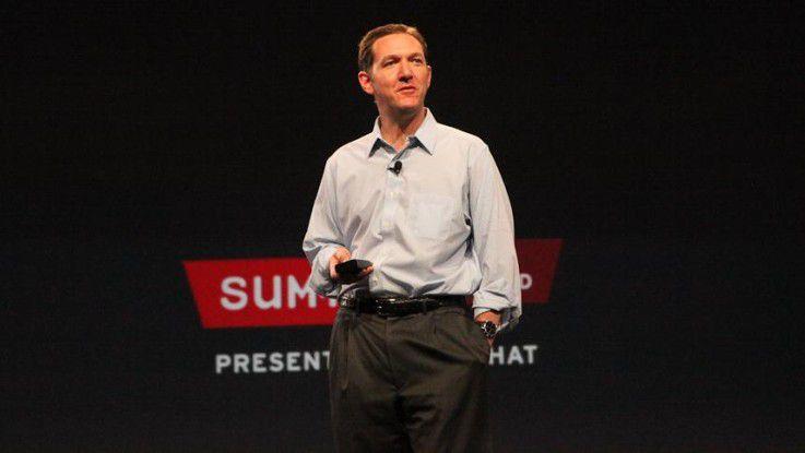 Jim Whitehurst ist Chief Executive Officer bei Red Hat.