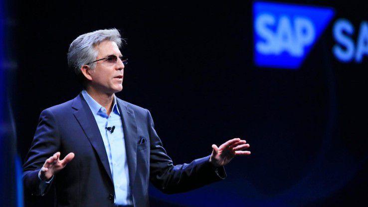 SAP CEO Bill McDermott auf der Sapphire 2017