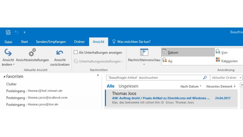 Microsoft Outlook Optimieren Die Besten Tipps Und Tricks Zu