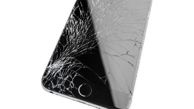 Häufigsten Schadensfall ist ein defektes Display
