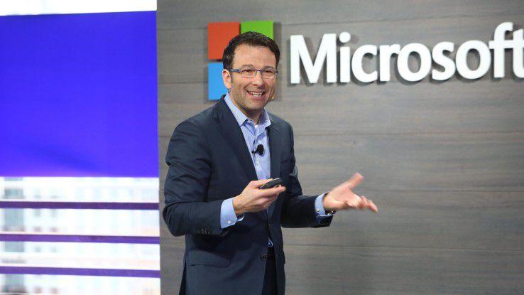 Zieht zusammen mit Jean-Philippe Courtois im Microsoft-Vertrieb die Fäden: Judson Althoff.