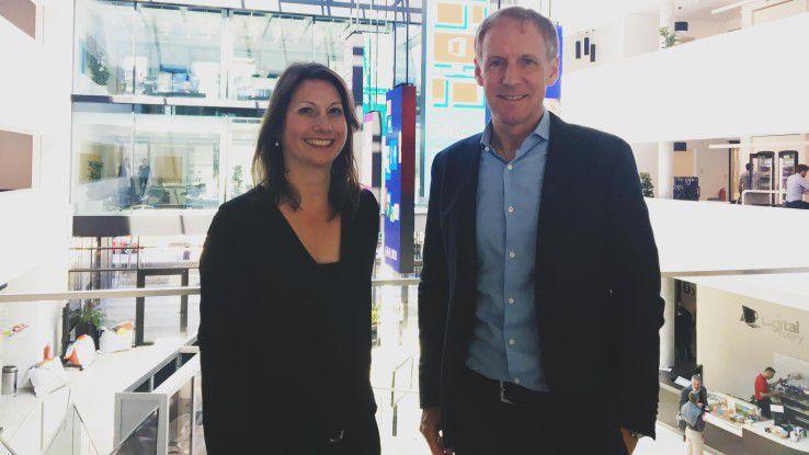 Ines Gesinger ist Managerin bei Microsoft. Hans-Dieter Hermann ist Sportpsychologe.