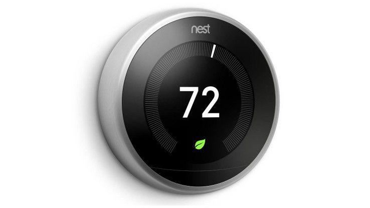 Nests lernfähiges Smart-Thermostat der dritten Generation wartet noch auf seinen Deutschland-Release und punktet in Sachen Technik, Interface und Design.