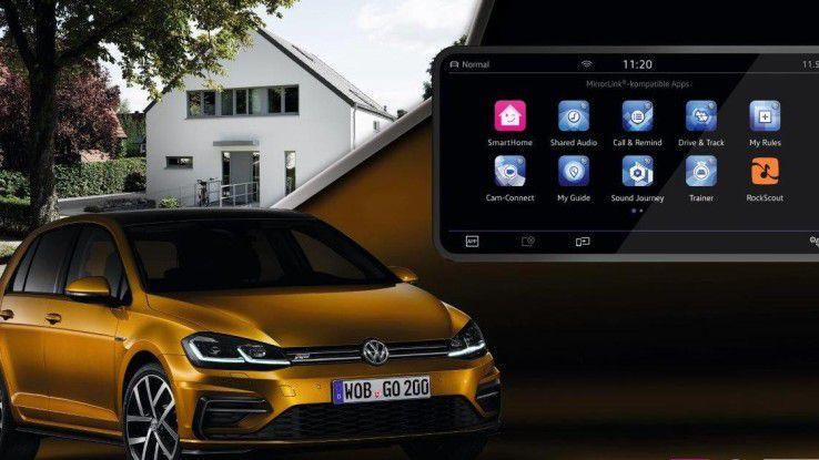 In Sachen Smart Home bauten Telekom und VW gemeinsan eine IoT-Lösung.