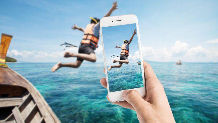 Wer gute Smartphone-Fotos will, kommt nach Meinung von Ex-Google-Vize Vic Gundrota um ein iPhone nicht herum.