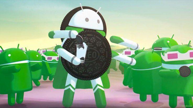 Android 8 Oreo ist zwar offiziell verfügbar, aber noch nicht weit verbreitet.