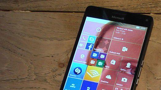 Lumia 950 mit Windows 10 Mobile