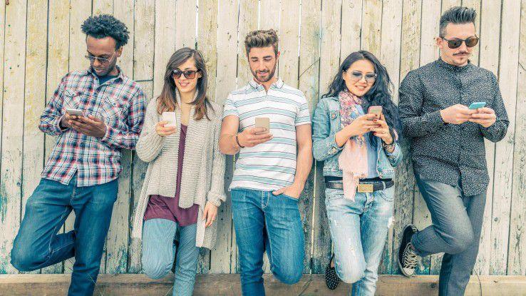 Schnell und am besten mobil sollten auch Bewerbungen über die Bühne gehen, so die Vorstellung vieler Millenials.