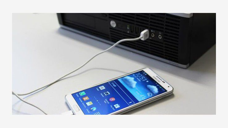 Verbindungsfehler: Das Smartphone wird nicht am PC erkannt