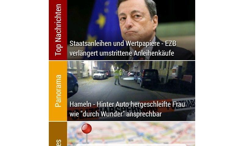 Bild Simply News Nachrichten App