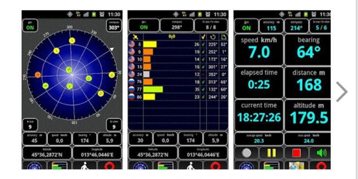 AndroiTS GPS Test: Die Android-App ist gratis erhältlich