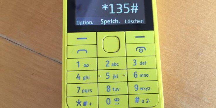Dieser USSD-Code funktioniert nur mit Telekom-SIM-Karten.