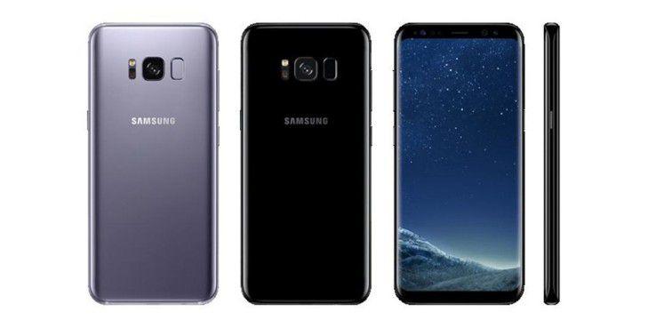 Samsung Galaxy S8 und S8+ sind jetzt im Handel erhältlich.