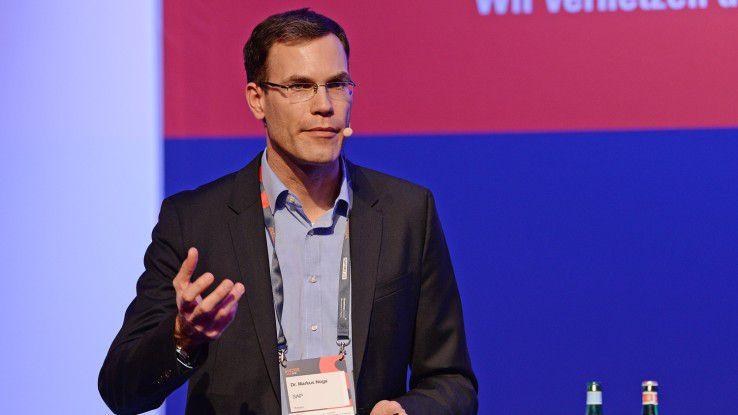 Die Übernahme von Contextor ist ein wichtiger Schrtitt hin zu einer durchgängigen Prozessautomatisierung in den eigenen Anwendungen, sagt Markus Noga, Leiter des Bereichs Machine Learning bei SAP.