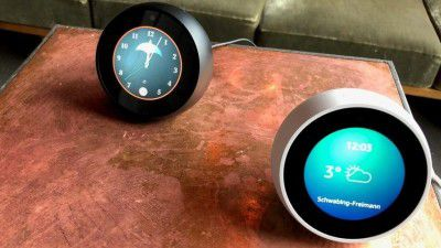 Smart Speaker mit Display: Echo Spot mit Amazon Alexa und 2,5-Zoll-Display im Test
