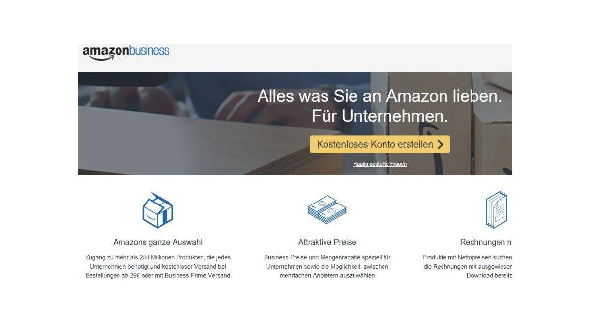 Amazon Business Hier Sparen Unternehmen Bei Einkäufen