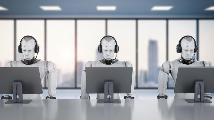 """""""Wir setzen Roboter an die Bildschirme"""", erklären die Protagonisten von Robotic Process Automation."""