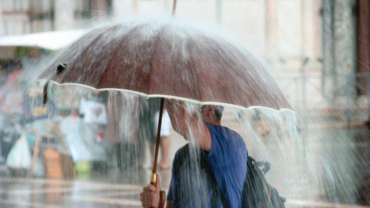 Extreme Wetterverhältnisse werden durch den Klimawandel zukünftig häufiger auftreten.