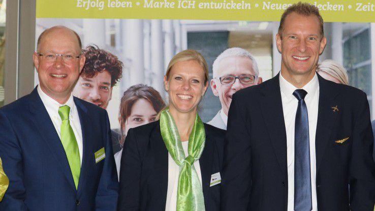 Gut gelandet bei den Teilnehmern: Über die gelungene Veranstaltung freut sich Jürgen Blockholdt (links), CEO der CAREERS LOUNGE und Partner des Business Breakfast bei der COMPUTERWOCHE.