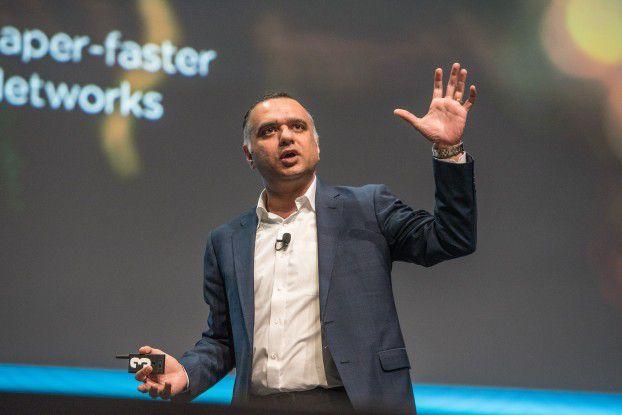 Dheeraj Pandey, CEO bei Nutanix, blickt optimistisch in die Multi-Cloud-Zukunft.