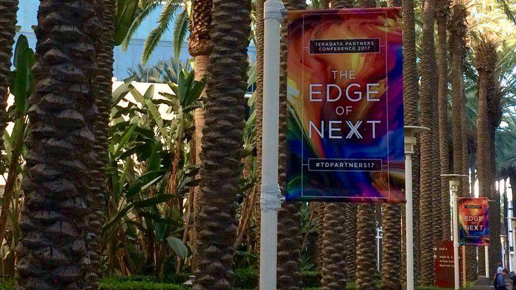 """Die Teradata Partners Konferenz 2017 im kalifornischen Anaheim stand unter dem Motto: """"Edge of Next""""."""