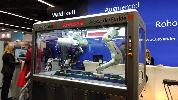 Aber auch die klassischen Automatisierungsthemen kamen nicht zu kurz - wenn auch digitalisiert.