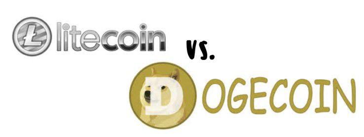 litecoin vs. Dogecoin